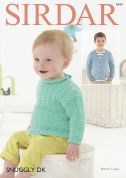Sirdar Baby & Boys Cardigan & Sweater Knitting Pattern 4747  DK