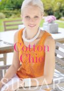 Sirdar Cotton Chic 476 Knitting Pattern Book  DK