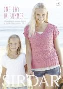 Sirdar One Day In Summer 482 Knitting Pattern Book  DK