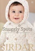 Sirdar Baby Snuggly Spots 485 Knitting Pattern Book  DK
