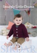 Sirdar Baby Snuggly Little Chums 489 Knitting Pattern Book  DK