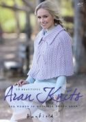 Hayfield Bonus Knits 492 Knitting Pattern Book  Aran