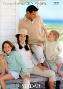 Sirdar Family Sweaters Country Style Knitting Pattern 5076  DK