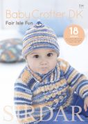Sirdar Baby Crofter Fair Isle Fun 514 Knitting Pattern Book  DK