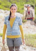 Sirdar Ladies Cardigans Faroe Knitting Pattern 7025  Super Chunky