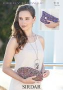 Sirdar Ladies Clutch Bags Knitting Pattern 7111