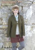 Hayfield Ladies Jacket With Wool Knitting Pattern 7152  Chunky