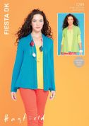 Hayfield Ladies Jackets Fiesta Knitting Pattern 7289  DK