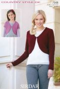 Sirdar Ladies & Girls Boleros Country Style Knitting Pattern 7348  DK