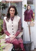 Hayfield Ladies Cardigan & Waistcoat Bonus Knitting Pattern 7369  Aran