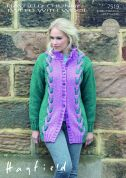 Sirdar Ladies Coat Knitting Pattern 7519  Chunky