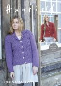 Hayfield Ladies Jackets Knitting Pattern 7794  Aran