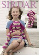 Sirdar Cuddly Rabbit Soft Toy Country Style Knitting Pattern 7939  DK