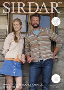 Sirdar Family Cardigans Wash n Wear & Crofter Knitting Pattern 7979  DK