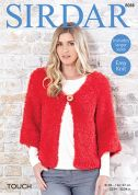 Sirdar Ladies Kimono Touch Knitting Pattern 8088