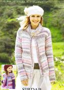 Sirdar Ladies & Girls Cardigans Knitting Pattern 9209  Chunky