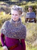 Sirdar Ladies Capes Knitting Pattern 9599  Chunky