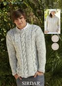 Sirdar Ladies & Mens Sweaters Big Softie Knitting Pattern 9602  Super Chunky