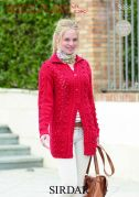 Sirdar Ladies Jacket Wash n Wear Knitting Pattern 9838  DK