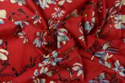Storrs London Egyptian Cotton Lawn Fabric  Berry