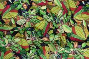 Storrs London Egyptian Cotton Lawn Fabric  Green