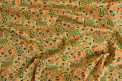 Storrs London Egyptian Cotton Lawn Fabric  Yellow