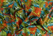 Storrs London Egyptian Cotton Lawn Fabric  Multicoloured
