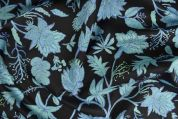 Storrs London Egyptian Cotton Lawn Fabric  Blue