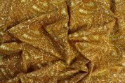 Storrs London Egyptian Cotton Lawn Fabric  Gold