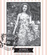 Sew La Di Da Vintage Ladies Sewing Pattern Vintage Style Audrey Dress