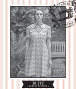 Sew La Di Da Vintage Ladies Sewing Pattern Vintage Style Blitz Dress