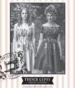 Sew La Di Da Vintage Ladies Sewing Pattern Vintage Style French Gypsy Dress