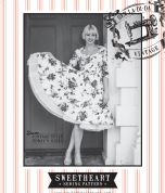 Sew La Di Da Vintage Ladies Sewing Pattern Vintage Style Sweetheart Dress