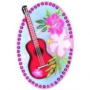 Guitar Patch Motif  Multicoloured