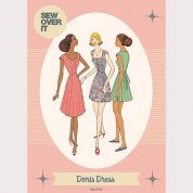Sew Over It Ladies Sewing Pattern 1950's Vintage Style Doris Dress