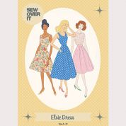Sew Over It Ladies Sewing Pattern Elsie Dress
