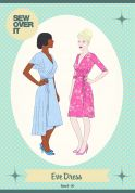 Sew Over It Ladies Sewing Pattern Eve Wrap Dress