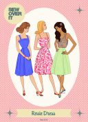 Sew Over It Ladies Sewing Pattern 1950's Vintage Style Rosie Skirt & Dress