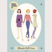 Sew Over It Ladies Easy Sewing Pattern Vintage Style Ultimate Shift Dress