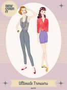 Sew Over It Ladies Sewing Pattern Vintage Style Ultimate Trousers