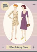 Sew Over It Ladies Sewing Pattern Vintage Style Ultimate Wrap Dress