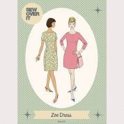 Sew Over It Ladies Sewing Pattern Zoe Dress