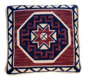 Taller De Canamazo Cross Stitch Cushion Kit Califa