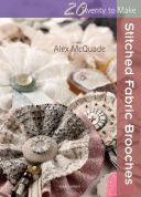 Search Press Twenty to Make Craft Book Stitched Fabric Brooches