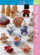 Search Press Twenty to Make Craft Book Tiny Toys to Knit