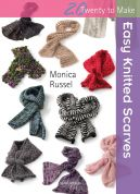 Search Press Twenty to Make Craft Book Easy Knitted Scarves