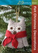 Search Press Twenty to Make Craft Book Felt Christmas Decorations