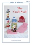 Sandra Polley The Craft Stall Knitting Pattern KP03  4 Ply, DK
