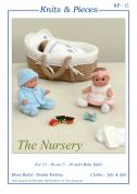 Sandra Polley The Nursery Toys Knitting Pattern KP12  3 Ply, 4 Ply, DK