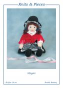 Sandra Polley Megan Doll Toy Knitting Pattern KP14  DK